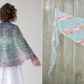 Pastel Delight Summer Shawls Free Knitting Patterns