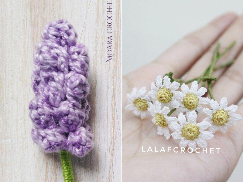 Precious Crochet Flowers