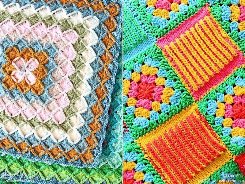 Splash of Color Blanket Squares
