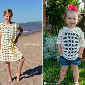 Summer Girl's Cover Ups Free Crochet Patterns
