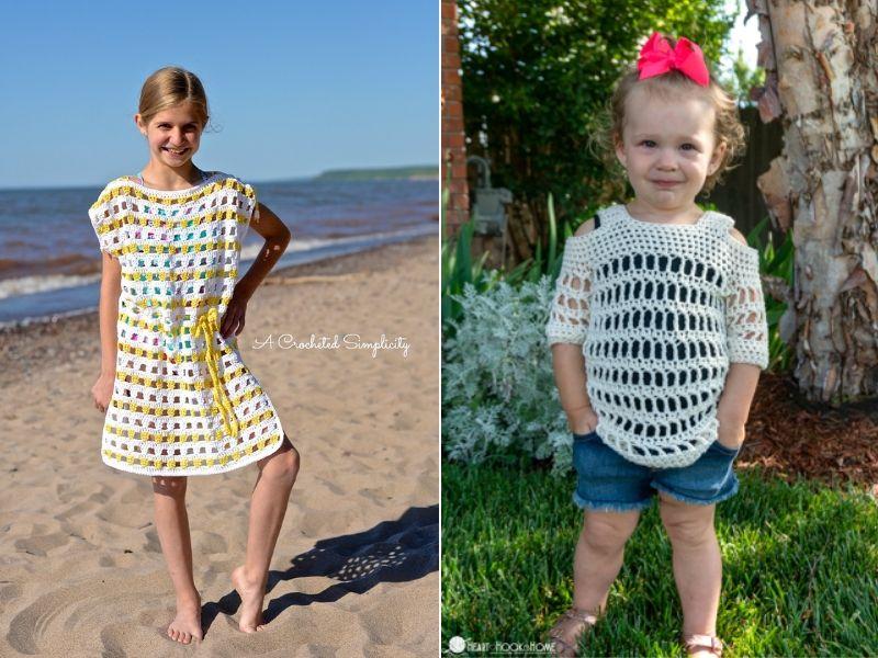Summer Girl's Cochet Cover Ups