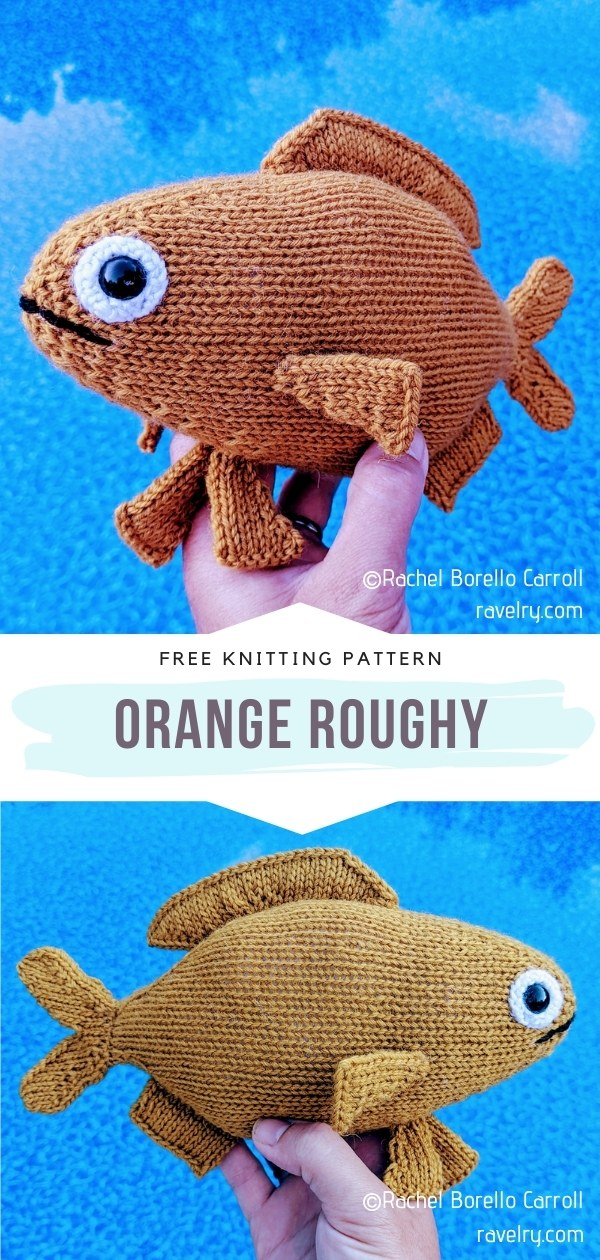 Fish Knitted Softie