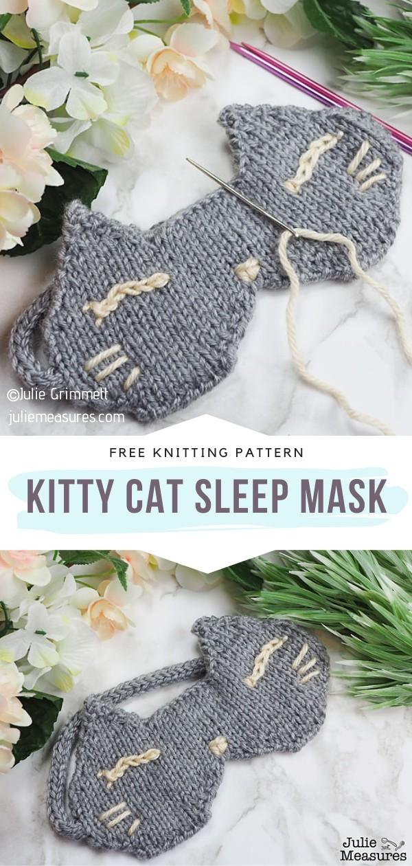 Knitted Sleep Mask