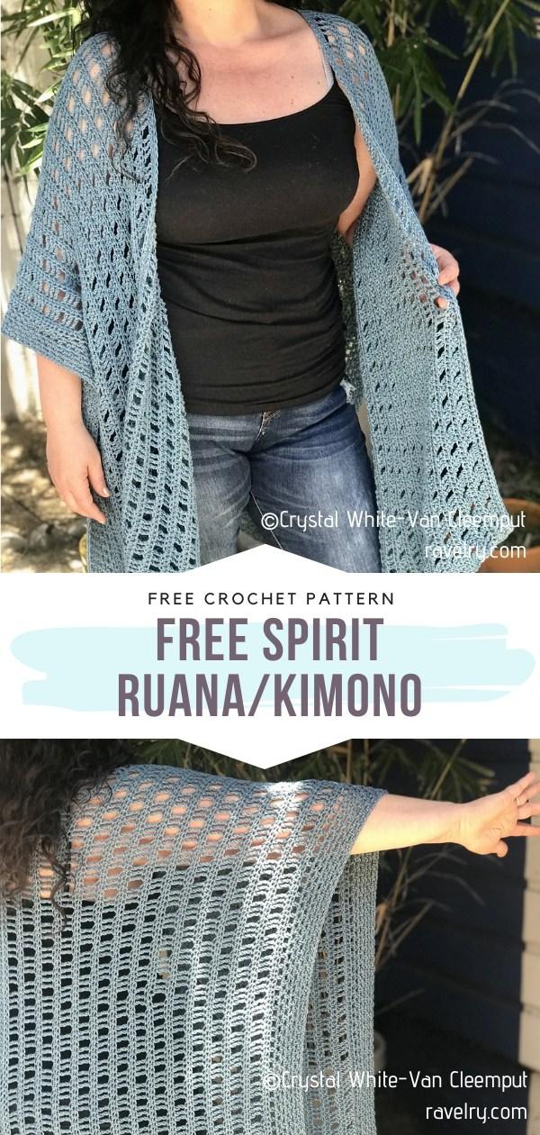 Crocheted Ruana