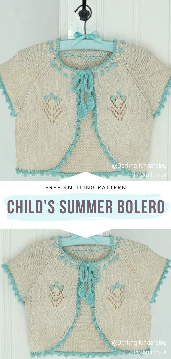 Knitted Summer Bolero