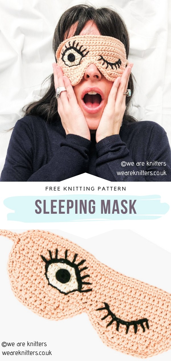 Knitted Sleeping Mask