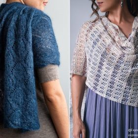 Delicate Knitted Wraps for Summer with Free Patterns