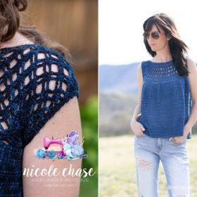 Ocean Blue Summer Tops Free Crochet Patterns
