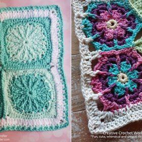 Summer Charm Squares Free Crochet Patterns