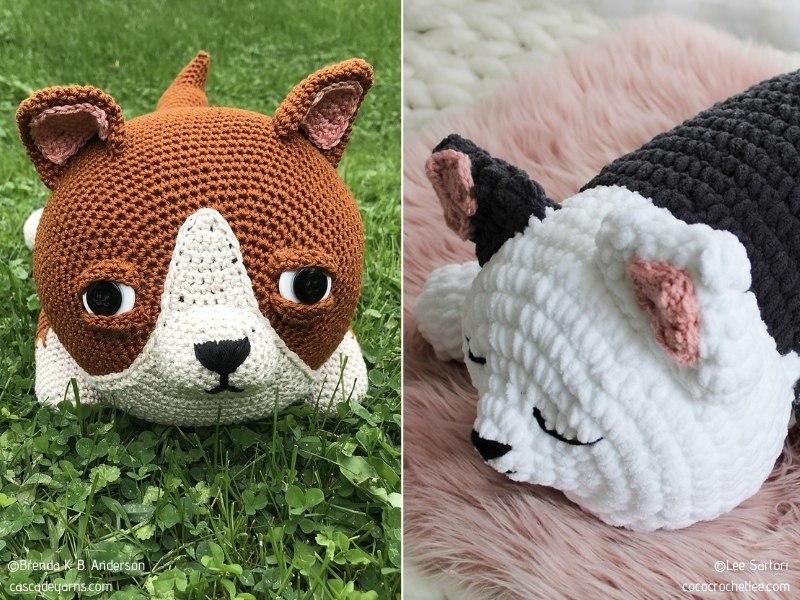 Heart-Melting Dog Softies Free Crochet Patterns