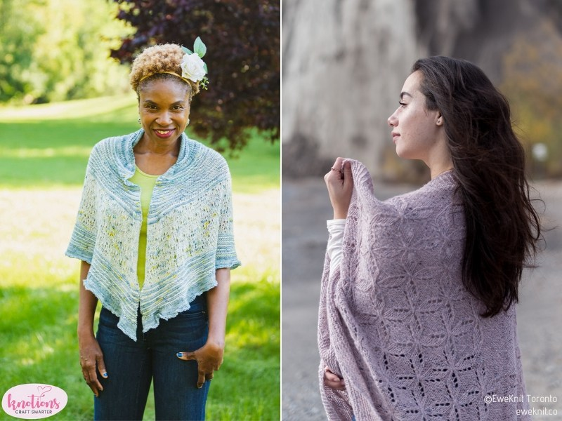 Dreamy Shawls for Summer Free Knitting Patterns