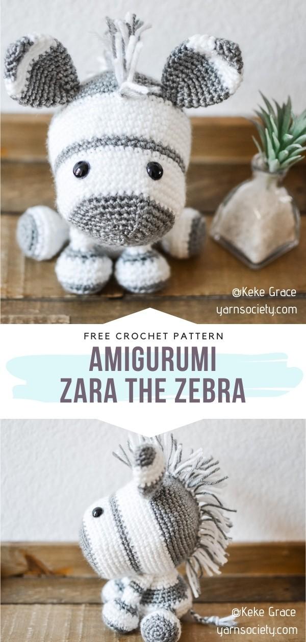 Amigurumi Zebra