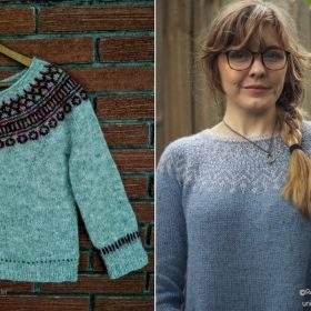 Charming Retro Sweaters for Fall with Free Knitting Patterns