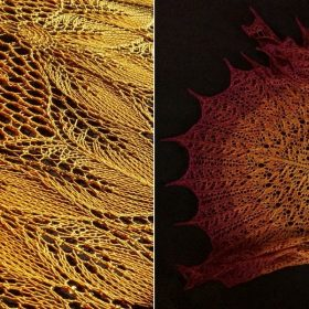 Intricate Shawls for Fall with Free Knitting Patterns