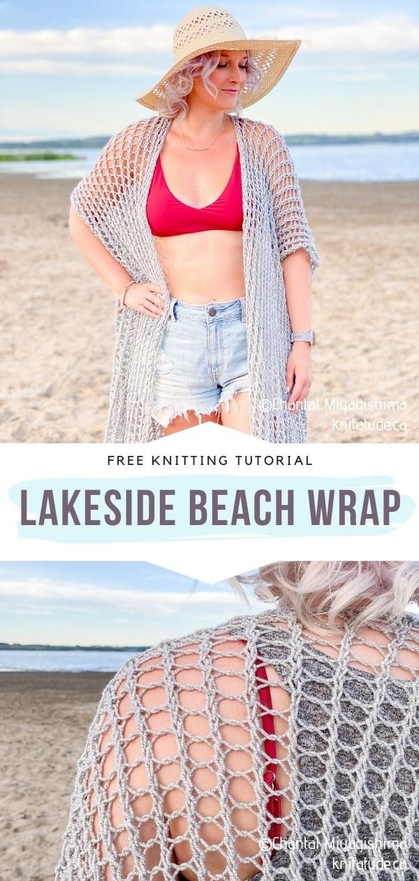 Knitted Beach Wrap