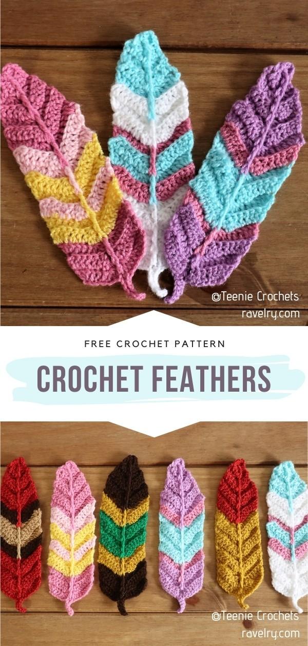 Crochet Feathers