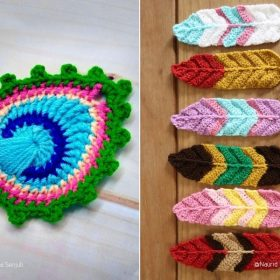 Enchanting Crochet Feathers with Free Patterns