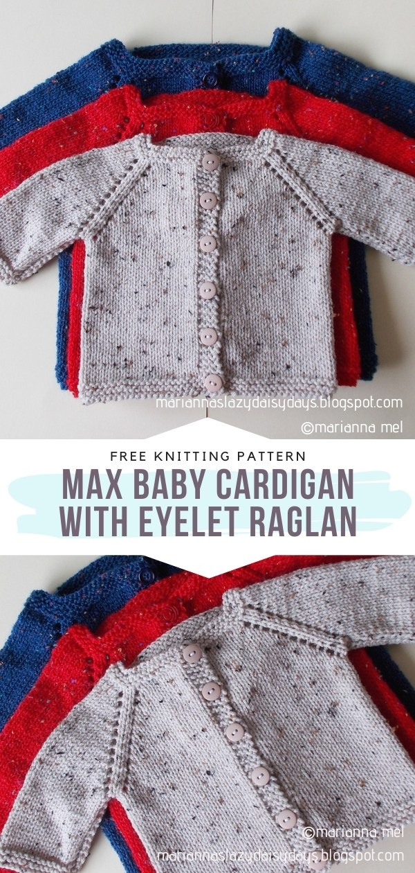 Knit Baby Cardigans
