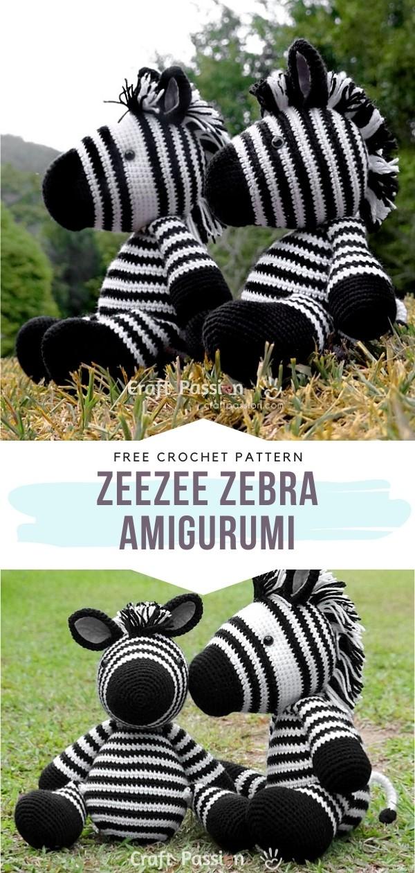 Amigurumi Zebras