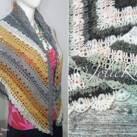 Retro Vibes Shawls with Free Crochet Patterns