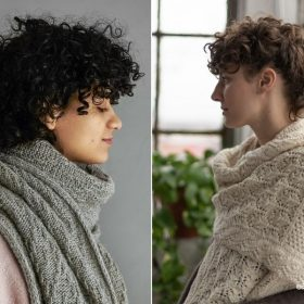 Sophisticated Wraps for Fall with Free Knitting Patterns
