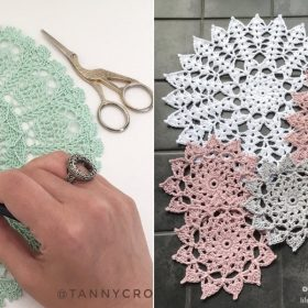Hypnotizing Mandalas with Free Crochet Patterns