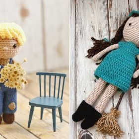 Adorable Autumn Dolls with Free Crochet Patterns