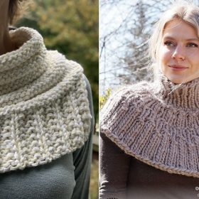 Wonderful Knitted Cowls with Free Knitting Patterns