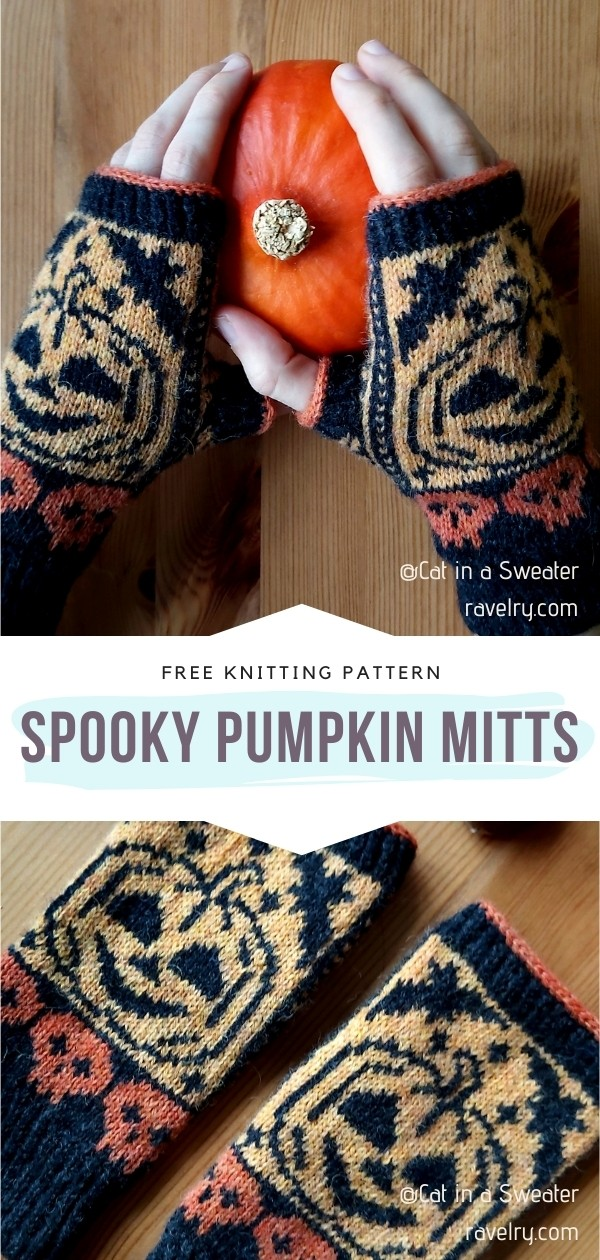 Pumpkin Mitts