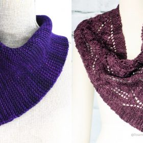 Fashionable Triangular Shawls with Free Knitting Patterns