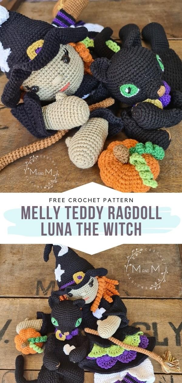 Crochet Witch Ragdoll