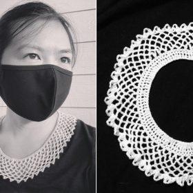 Beautiful Retro Collars with Free Crochet Patterns