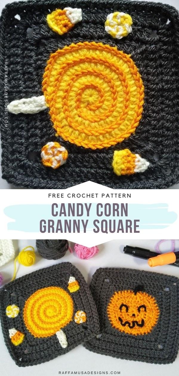 Halloween Granny Square