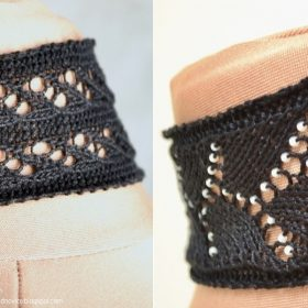 Trendy Lace Chokers with Free Knitting Patterns
