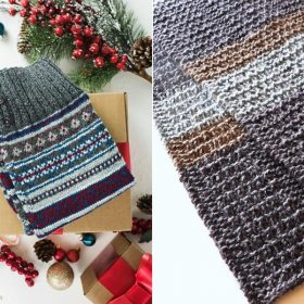 Perfect Knitted Scarves with Free Knitting Patterns