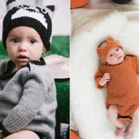 The Cutest Baby Costumes with Free Knitting Patterns
