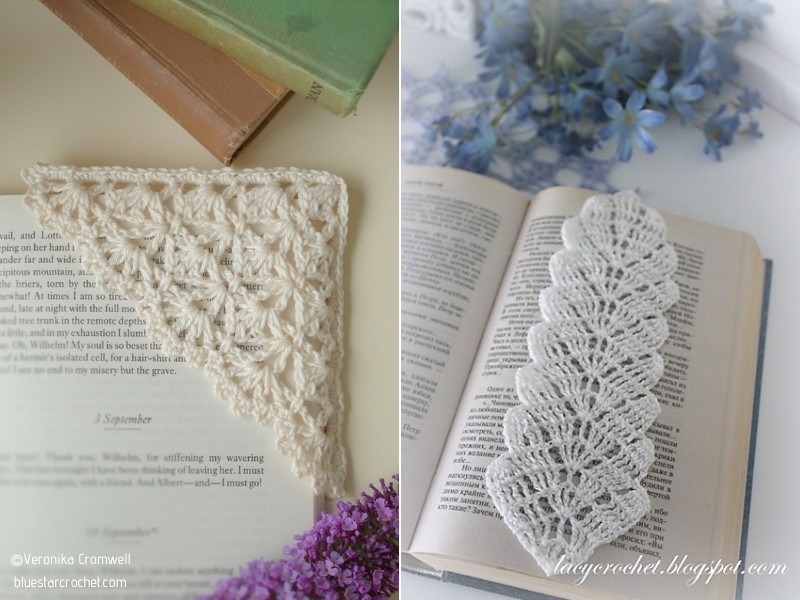 Precious Bookmarks with Free Crochet Patterns
