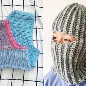 Awesome Balaclavas for Kids and Adults with Free Crochet Patterns