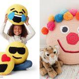 Cute Crochet Pillows for Kids