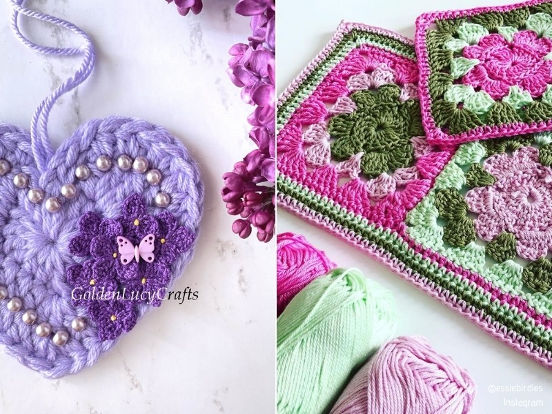 Mother's Day Crochet Ideas and Free Patterns