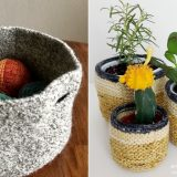 Chic Minimalist Baskets