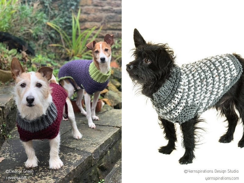 Best Free Crochet Dog Sweater Patterns